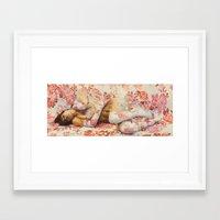 Summer's New Dream Framed Art Print