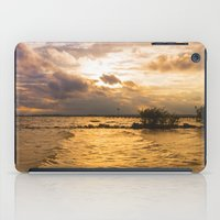 Weather over the lake iPad Case