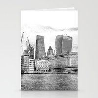 City Of London Art Stationery Cards