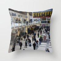 Liverpool Street Station London Throw Pillow
