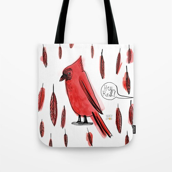Hey, Red! Tote Bag