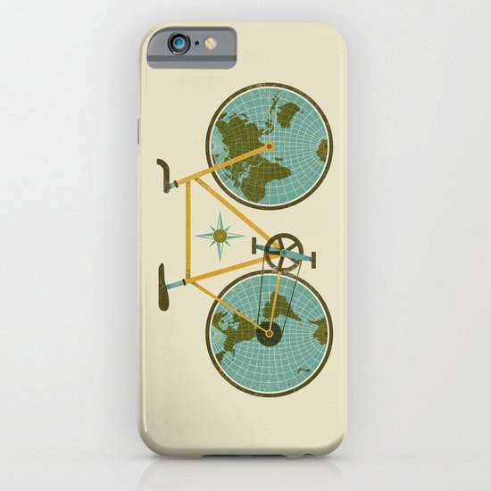 Ride For The World iPhone & iPod Case