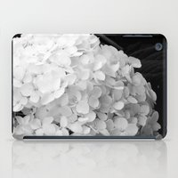 White flowers no.2 iPad Case