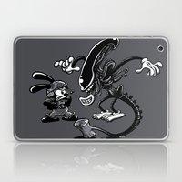 Alien Vs Oswald Laptop & iPad Skin