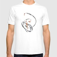 Just Dancing Mens Fitted Tee White SMALL