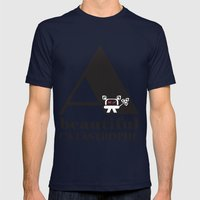 A Beautiful Catastrophe Mens Fitted Tee Navy SMALL