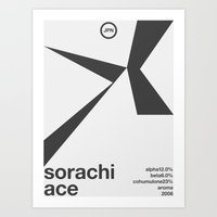 sorachi ace single hop Art Print
