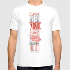 Fear Mens Fitted Tee SMALL White