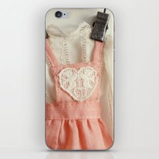 Doll Closet Series - Heart Dress iPhone & iPod Skin