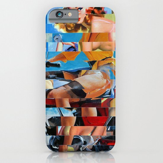 Glitch Pin-Up: Zelda & Zoe iPhone & iPod Case