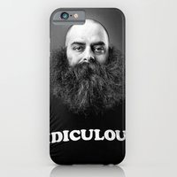 iPhone & iPod Case featuring Ridiculous by justinjamesmuir