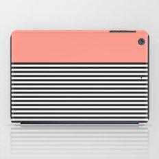 STRIPE COLORBLOCK {CORAL} iPad Case