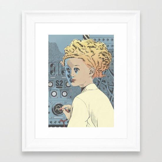 Superbrain Framed Art Print