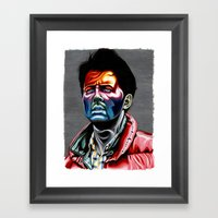 Marty Mcfly Framed Art Print