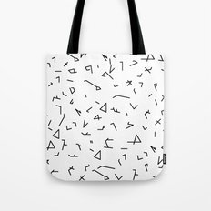 short lines Tote Bag