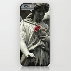 Angel with a rose iPhone 6 Slim Case