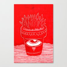suculenta espacial Canvas Print