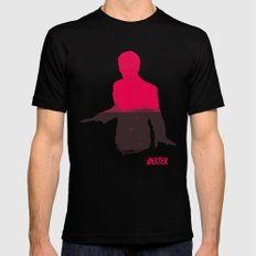 The Dark Passenger Black SMALL Mens Fitted Tee