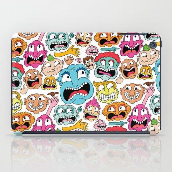 Weird Faces iPad Case