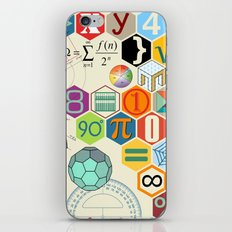 Math in color iPhone & iPod Skin