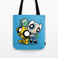 Adventure Puff Buds Tote Bag