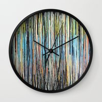 Flowing Lines Wall Clock