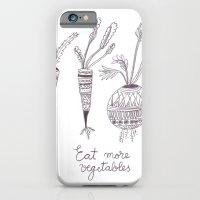 Eat more vegetables iPhone 6 Slim Case