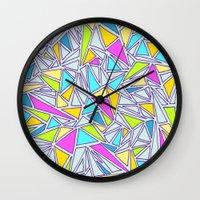 Abstract #001 Wall Clock