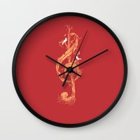 Natural Melody Wall Clock