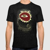 See No Evil - Pink Mens Fitted Tee Tri-Black SMALL