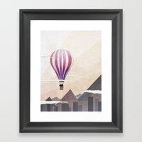 On The Rise Framed Art Print