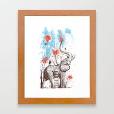 A Happy Place Framed Art Print