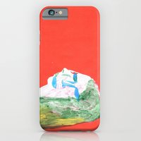 Helga in profile in full face iPhone 6 Slim Case