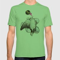 Toot! | Collage Mens Fitted Tee Grass SMALL