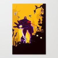 The Uncanny X-Men Canvas Print