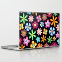 Spring Flowers Colorful Naif Design Laptop & iPad Skin