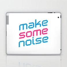 Make Some Noise Music Quote Laptop & iPad Skin