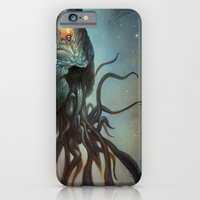 iPhone & iPod Case featuring Yawanpok the Void Menace by Mark Facey