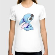 626 Womens Fitted Tee White SMALL
