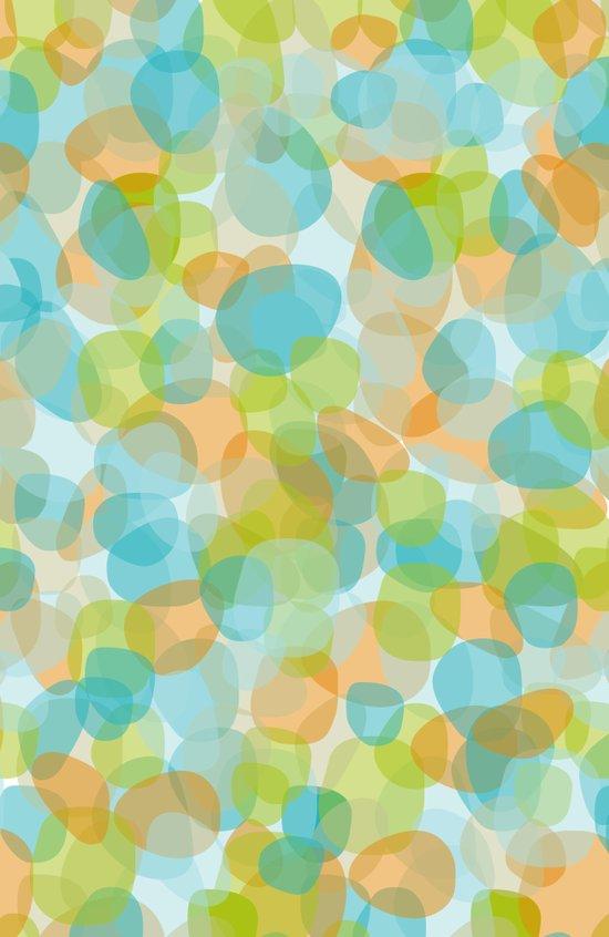 Pebbles Turquoise Art Print