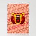Geometric Bear 2012 Stationery Cards
