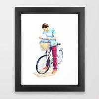 Turista II Framed Art Print