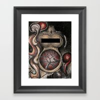 The Late Bird Gets The $… Framed Art Print