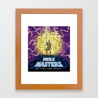 Bees Masters of Time and Space Framed Art Print