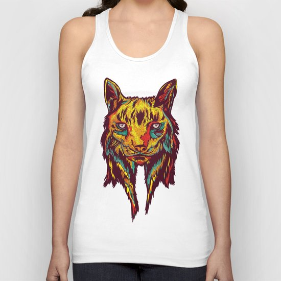 BE RARE* - Iberic Lince Unisex Tank Top