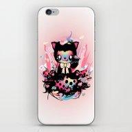 Lucky Kitty iPhone & iPod Skin
