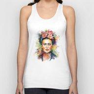 Frida Kahlo Unisex Tank Top