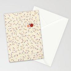 Light Background Dot Color Design Stationery Cards