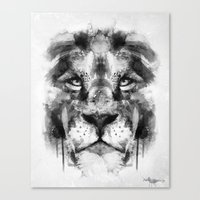 The King. Canvas Print