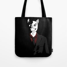 Business Cat Tote Bag